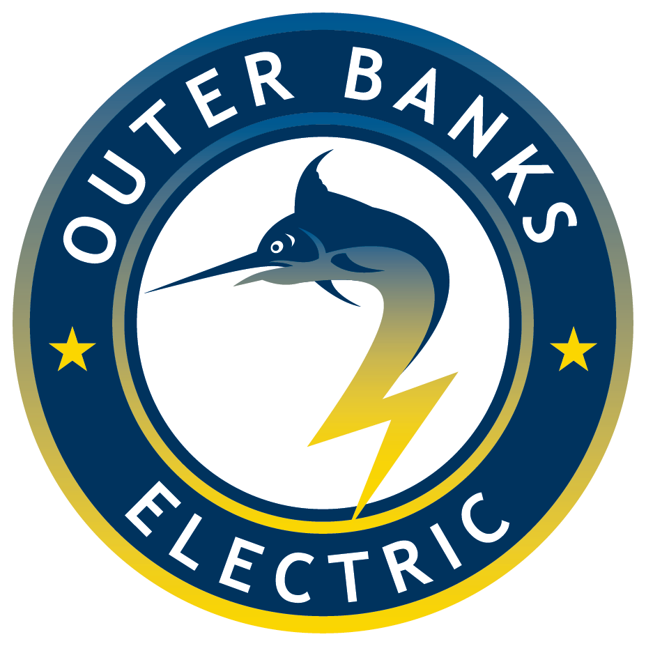 OBX Electric white logo